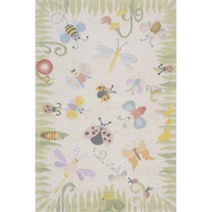 Lil Mo Classic Multi Rectangular: 5 ft. x 7 ft. Rug
