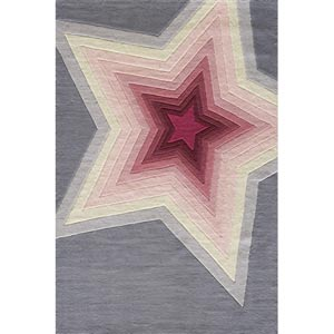 Lil Mo Hipster Superstar Rectangular: 5 ft. x 7 ft. Rug
