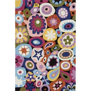 Lil Mo Hipster Multi Rectangular: 5 ft. x 7 ft. Rug