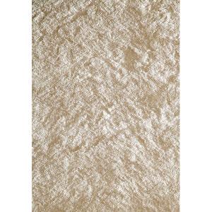 Luster Shag White Rectangular: 3 Ft. x 5 Ft. Rug Rug