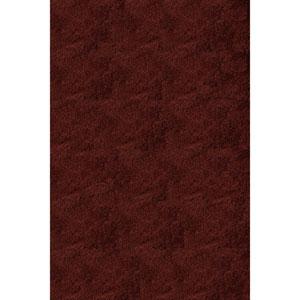 Luster Shag Brick Rectangular: 9 Ft x 12 Ft Rug