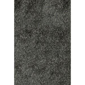 Luster Shag Carbon Rectangular: 9 Ft x 12 Ft Rug