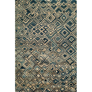 Madagascar Multi-Colored Rectangular: 3 Ft. 6 In.  x 5 Ft. 6 In. Rug
