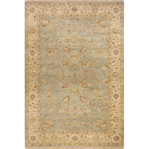 Palace Light Blue Rectangular: 5 Ft. 6 In.  x 8 Ft. 6 In. Rug
