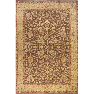 Palace Chocolate Rectangular: 5 Ft. 6 In.  x 8 Ft. 6 In. Rug