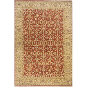 Palace Rust Rectangular: 3 Ft. 9 In.  x 5 Ft. 9 In. Rug