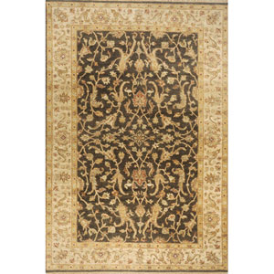 Palace Charcoal Rectangular: 5 Ft. 6 In.  x 8 Ft. 6 In. Rug