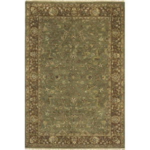 Palace Green Rectangular: 5 Ft. 6 In.  x 8 Ft. 6 In. Rug