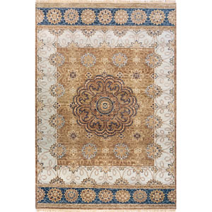 Palace Blue Rectangular: 8 Ft. 6 In.  x 11 Ft. 6 In. Rug
