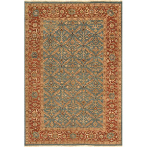 Palace Blue Rectangular: 5 Ft. 6 In.  x 8 Ft. 6 In. Rug