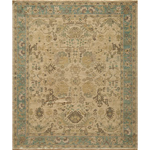 Patina Blue Rectangular: 5 Ft. 6 In.  x 8 Ft. 6 In. Rug