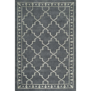 Sensations Charcoal Rectangular: 2 Ft x 3 Ft Rug