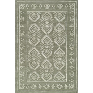 Sensations Olive Rectangular: 2 Ft x 3 Ft Rug