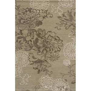 Sensations Light Taupe Rectangular: 5 ft. x 7 ft. 6 in. Rug
