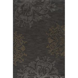 Sensations Charcoal Rectangular: 5 ft. x 7 ft. 6 in. Rug
