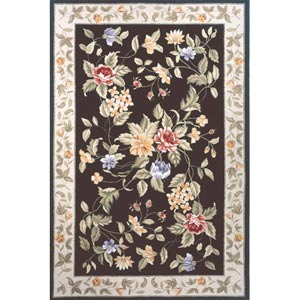 Spencer Black Rectangular: 8 ft. x 11 ft. Rug