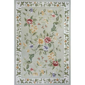Spencer Sage Rectangular: 3 ft. 6 in. x 5 ft. 6 in. Rug