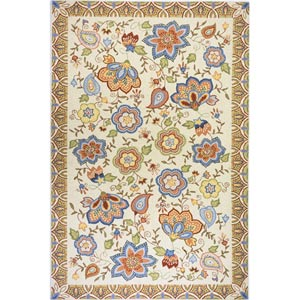 Spencer Beige Rectangular: 5 ft. x 8 ft. Rug