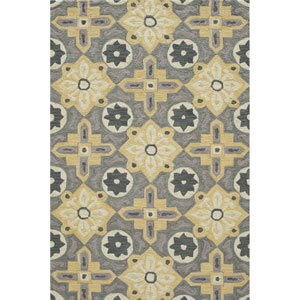 Summit Yellow Rectangular: 2 Ft x 3 Ft Rug