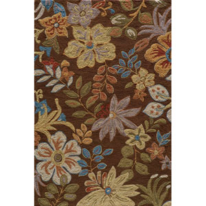 Summit 4 Brown Rectangular: 5 ft. x 7 ft. 6 in. Rug