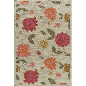 Summit 7 Oatmeal Rectangular: 5 ft. x 7 ft. 6 in. Rug