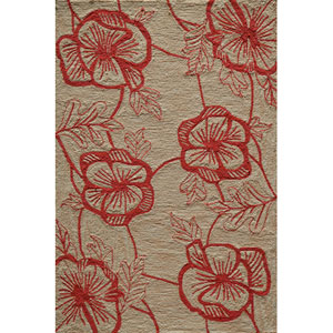 Summit 10 Coral Rectangular: 5 ft. x 7 ft. 6 in. Rug