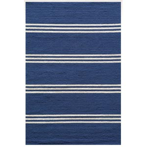 Veranda Maritime Blue Rectangular: 5 ft. x 8 ft. Rug