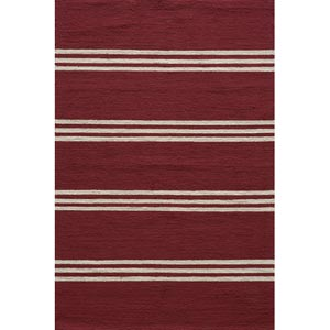 Veranda Red Rectangular: 5 ft. x 8 ft. Rug