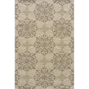 Veranda Beige Rectangular: 5 ft. x 8 ft. Rug