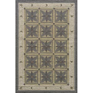 Veranda Steel Grey Rectangular: 5 ft. x 8 ft. Rug