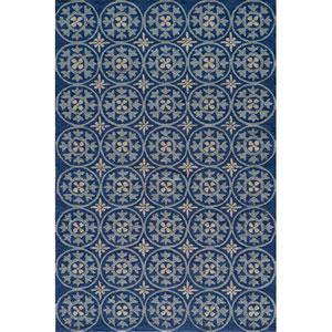 Veranda 26 Blue Rectangular: 5 ft. x 8 ft. Rug