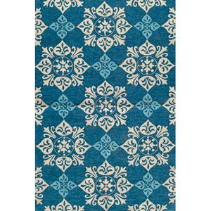 Veranda 29 Blue Rectangular: 5 ft. x 8 ft. Rug
