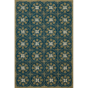 Veranda 30 Blue Rectangular: 5 ft. x 8 ft. Rug