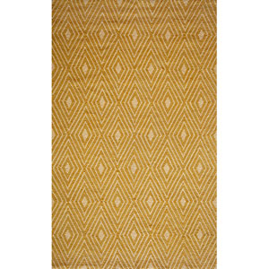 Veranda Yellow Rectangular: 5 Ft. x 8 Ft. Rug Rug