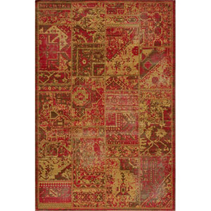 Vintage 3 Sunset Rectangular: 5 ft. 3 in. x 7 ft. 9 in. Rug