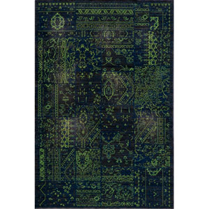 Vintage 5 Grass Rectangular: 5 ft. 3 in. x 7 ft. 9 in. Rug
