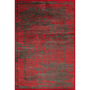 Vogue Red Rectangular: 5 Ft. x 7 Ft. 6 In. Rug Rug