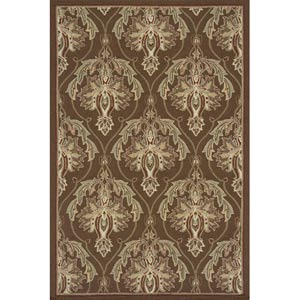Veranda Brown Rectangular: 5 ft. x 8 ft. Rug