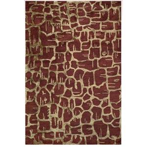 Zen Rust Rectangular: 5 ft. x 8 ft. Rug