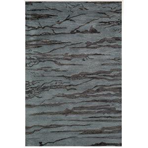 Zen Slate Rectangular: 5 ft. x 8 ft. Rug