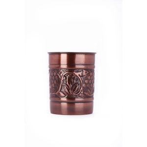 Antique Copper Embossed Heritage Tool Caddy
