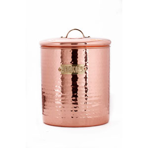 Copper Cookie Jar