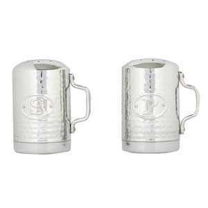 Stainless Steel Stovetop Salt and Pepper Set