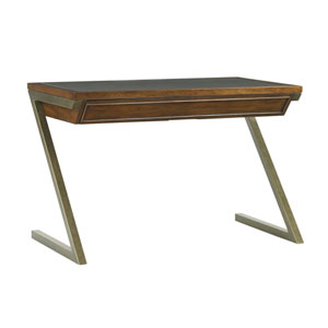 Longboat Key Light Brown and Bronze Harborview Desk
