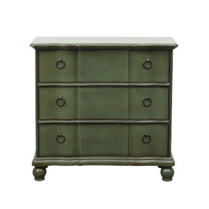 Winston Green 35-Inch Three Drawer Accent Chest