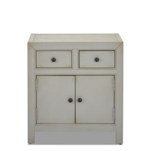 Henning Gray 26-Inch Two Drawer Accent Chest