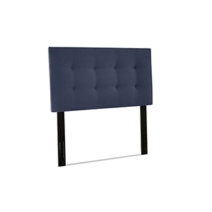 Thomas Indigo Queen  Size Upholstered Headboard