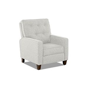 Evan Sand Push Back  High Leg Reclining Chair