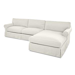 Olivia Cream Down Blend Sofa