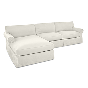 Olivia Cream Down Blend Sofa Sectional